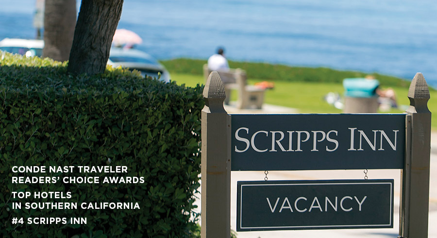 Scripps Inn with Vacancy Sign